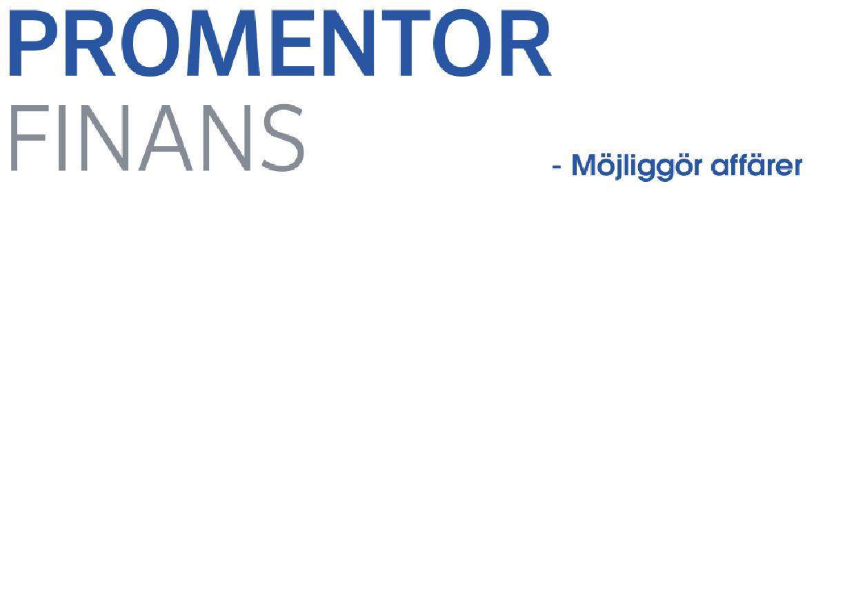 "Academic Work ""Account Managers B2B till expansiva Promentor Finans"""