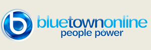 BlueTownOnline.co.uk logo