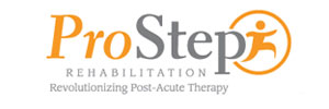 Physical Therapy ProStep Rehabilitation Logo