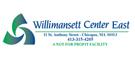 Willimansett Center East logo