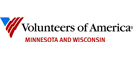 Volunteers of America Minnesota and Wisconsin logo