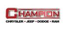 Champion Chrysler Jeep Dodge Ram logo
