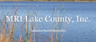 MR-MRI of Lake County logo