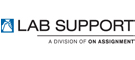 Lab Support, a division of On Assignment logo