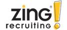 Zing! Recruiting logo